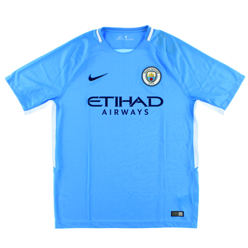 2017-18 Manchester City Home Shirt *w/tags* XL.Boys - 847403-489