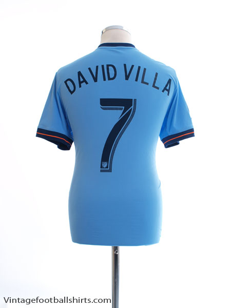 2017-18 New York City FC Home Shirt David Villa #7 M