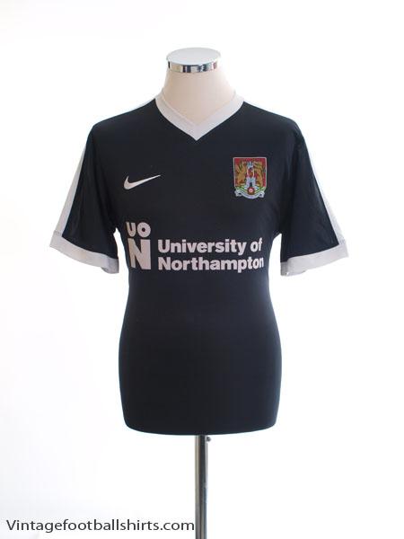 2017-18 Northampton Away Shirt #24 L