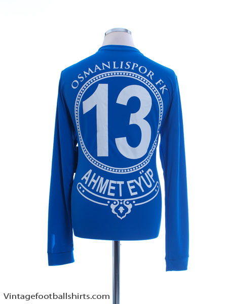 2017-18 Osmanlispor Match Issue GK Shirt Ahmet Eyup *w/tags* L