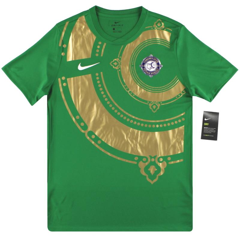 2017-18 Osmanlispor Nike Goalkeeper Shirt Karce #1 *w/tags* S - 725891-302