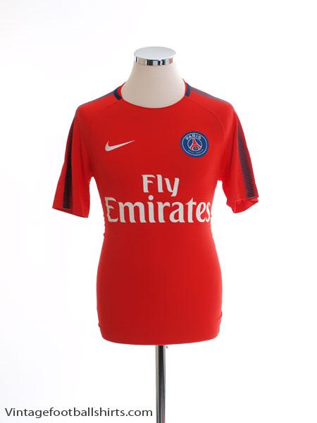 2017-18 Paris Saint-Germain Nike Training Shirt *Mint* S