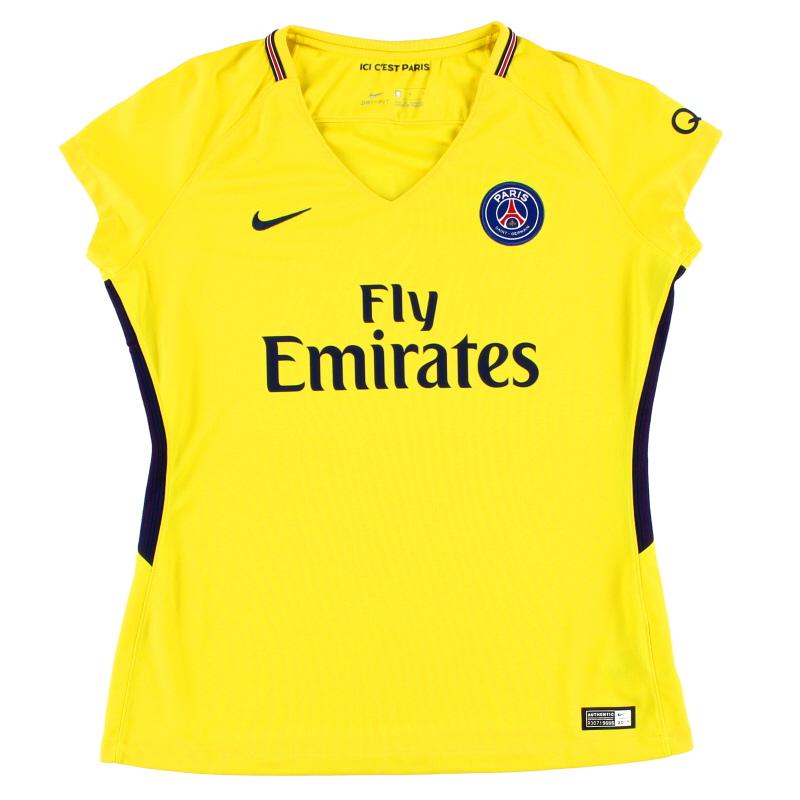 2017-18 Paris Saint-Germain Women's Away Shirt *Mint* L - 854701-719