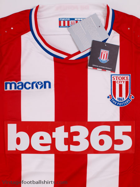 300a625cc 2017-18 Stoke City Home Shirt  BNIB  for sale