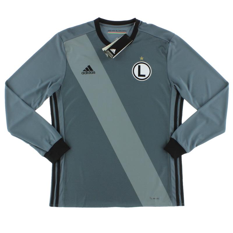 2017-19 Legia Warsaw Away Shirt L/S *BNIB* L - BP9476