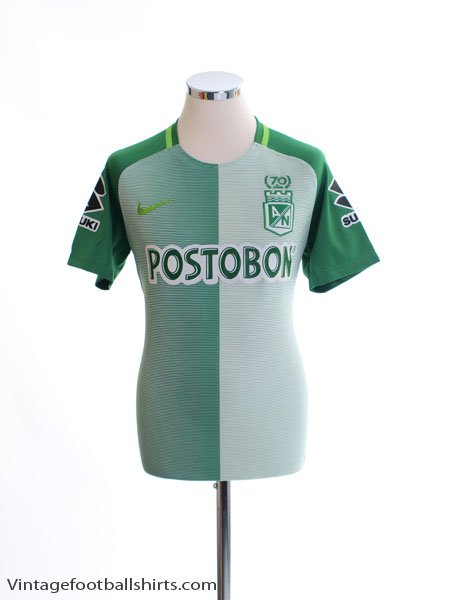 2017 Atletico Nacional Home Shirt M