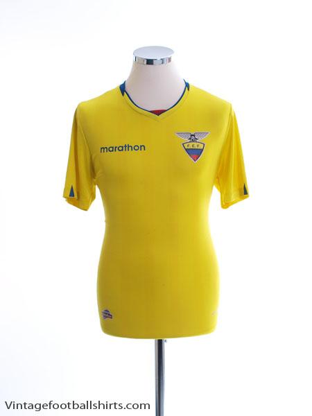 2017 Ecuador Home Shirt M