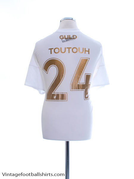2017 FC Copenhagen Home Shirt Toutouh #24 XL - AJ5846