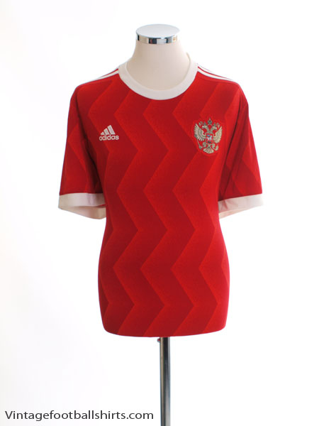 2017 Russia Confederations Cup Home Shirt *Mint* XL - BR6593