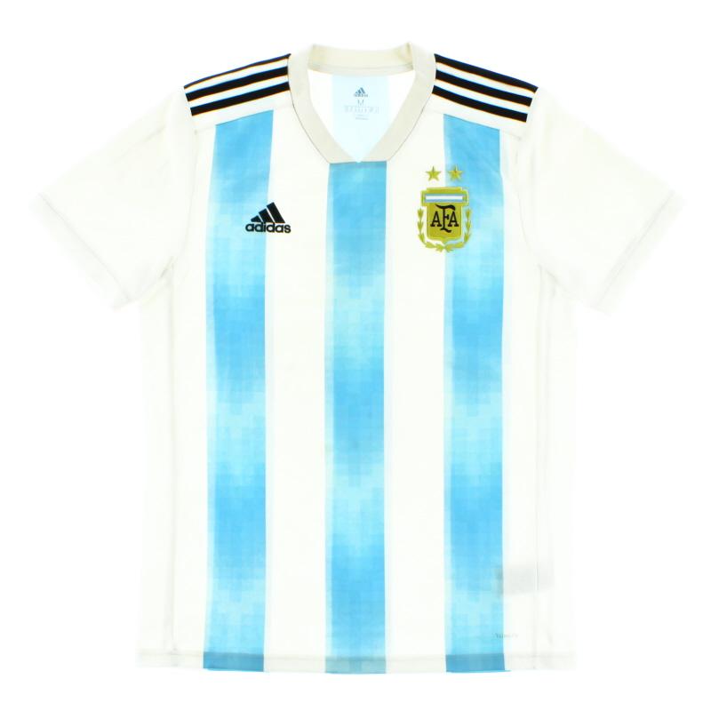 2018-19 Argentina Home Shirt M - BQ9324