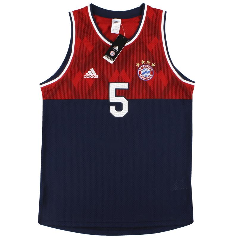 2018-19 Bayern Munich adidas Seasonal Special Tank Top *BNIB* - CW7329