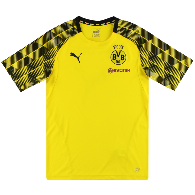 2018-19 Borussia Dortmund Puma Stadium Training Shirt S - 752857-01