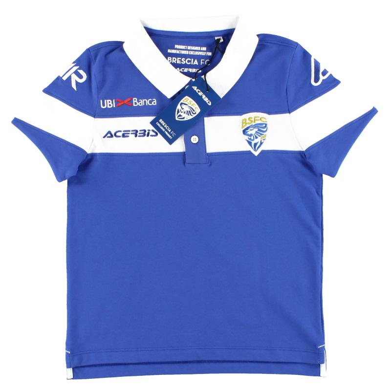 2018-19 Brescia Acerbis Polo Shirt *BNIB* 3XS - 0022865.040.059