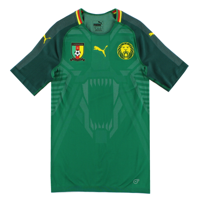 2018-19 Cameroon EvoKnit Player Issue Home Shirt *w/tags* M - 752329 01