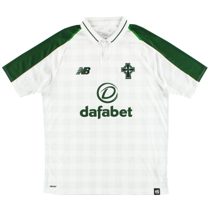 2018-19 Celtic New Balance Away Shirt S - MT830072