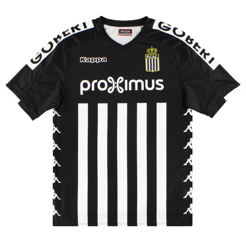 2018-19 Charleroi Kappa Home Shirt *As New*  - 304MGW0