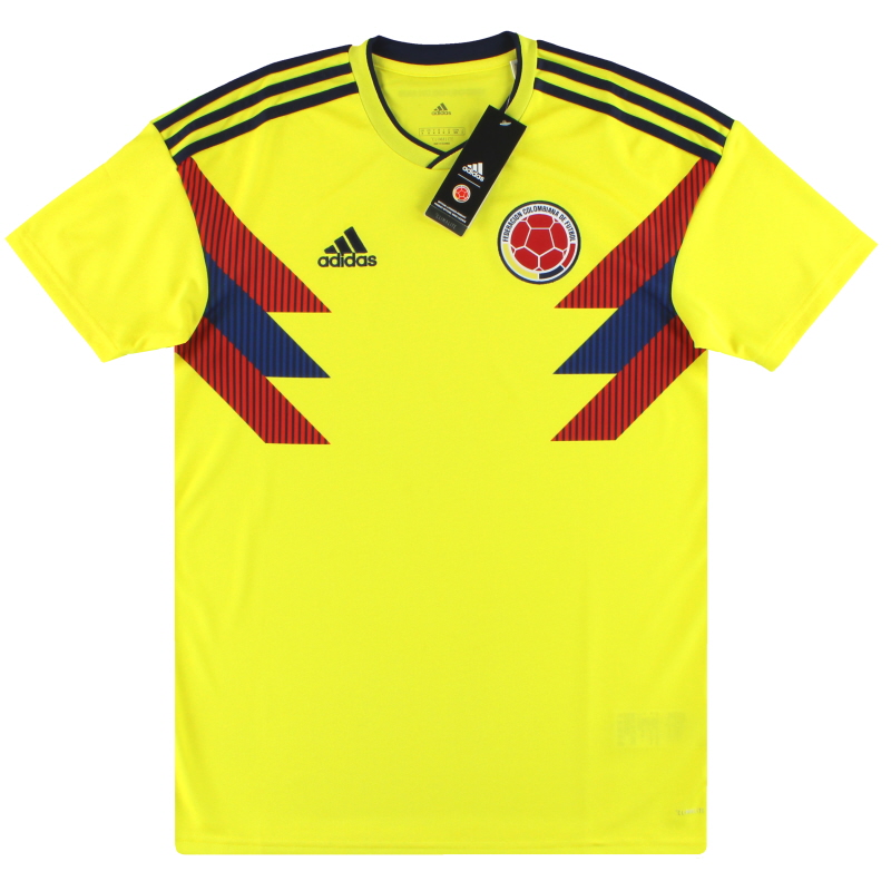 2018-19 Colombia adidas Home Shirt *w/tags* M - CW1526