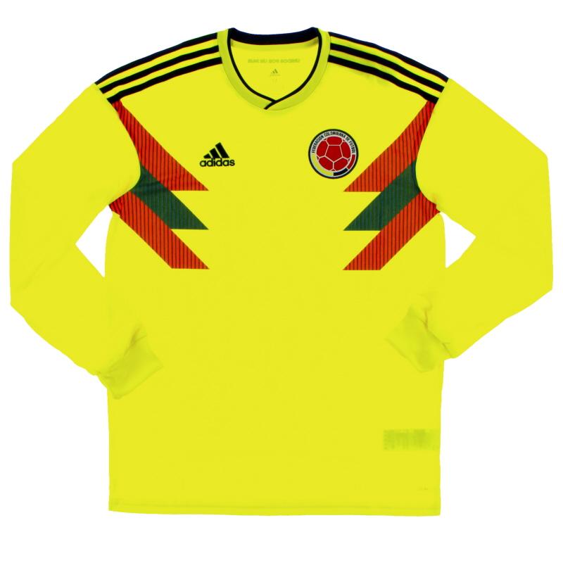 2018-19 Colombia Home Shirt L/S *BNIB* - BR3511