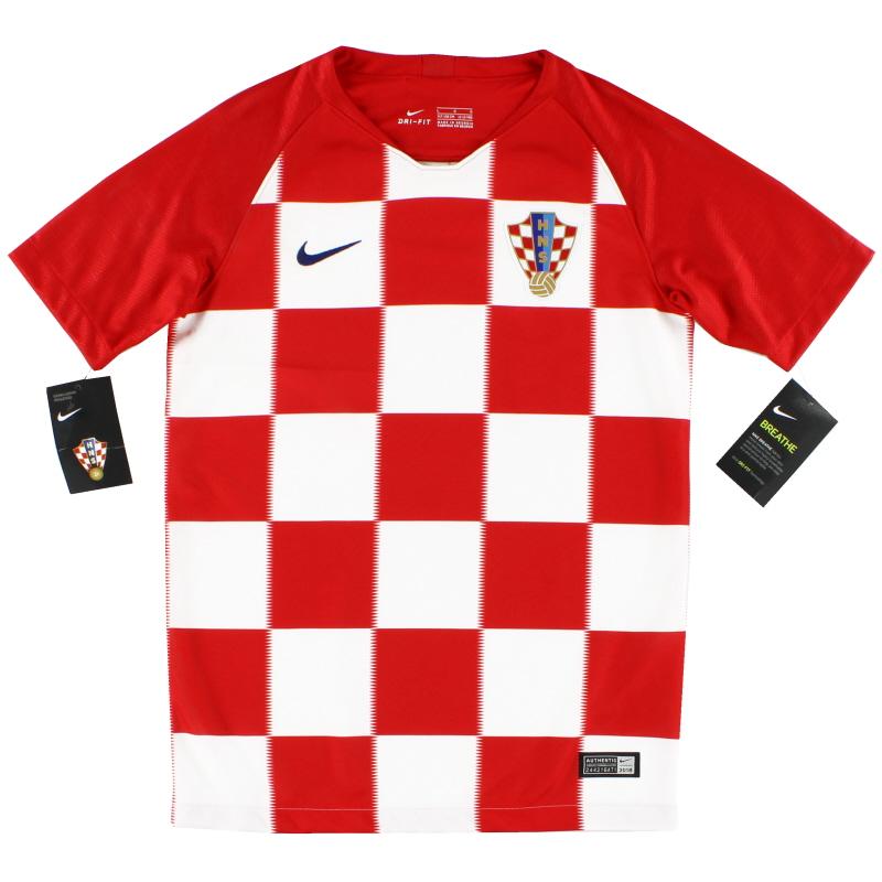2018-19 Croatia Home Shirt *w/tags* L.Boys - 893980-657