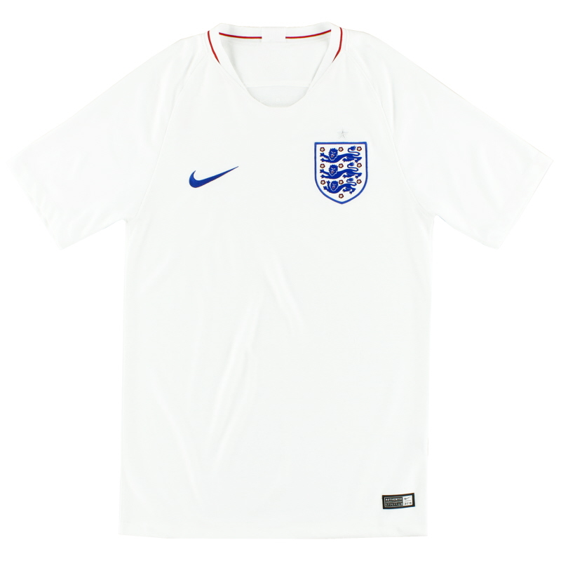 2018-19 England Home Shirt S - 893868-101