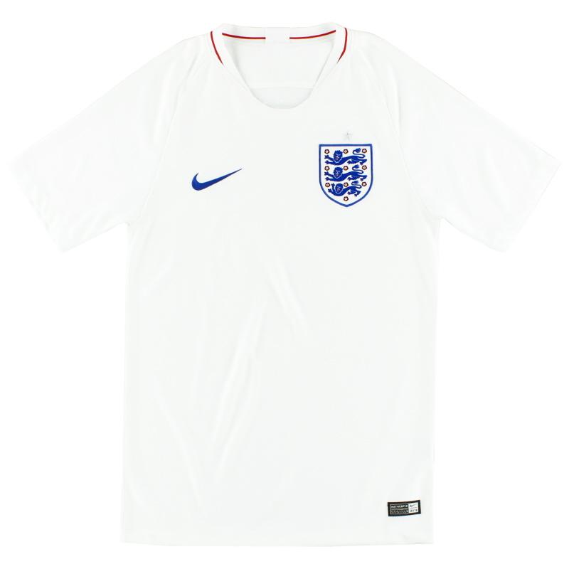2018-19 England Nike Home Shirt L - 893868-101