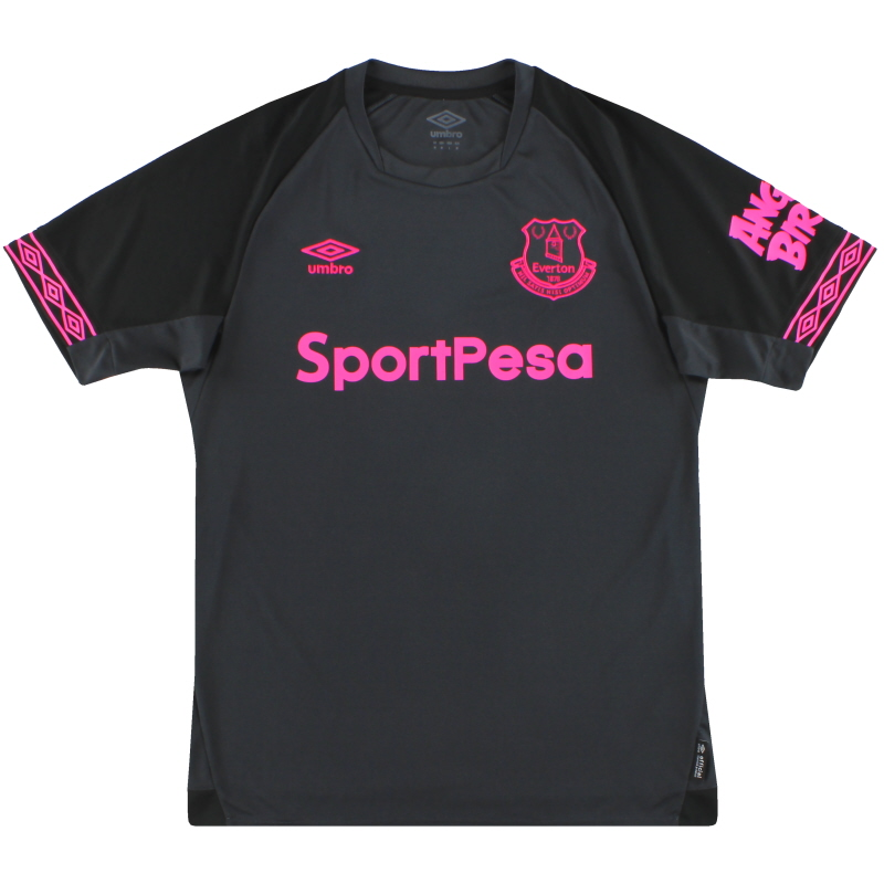 2018-19 Everton Umbro Away Shirt *As New* M - UUM178799U
