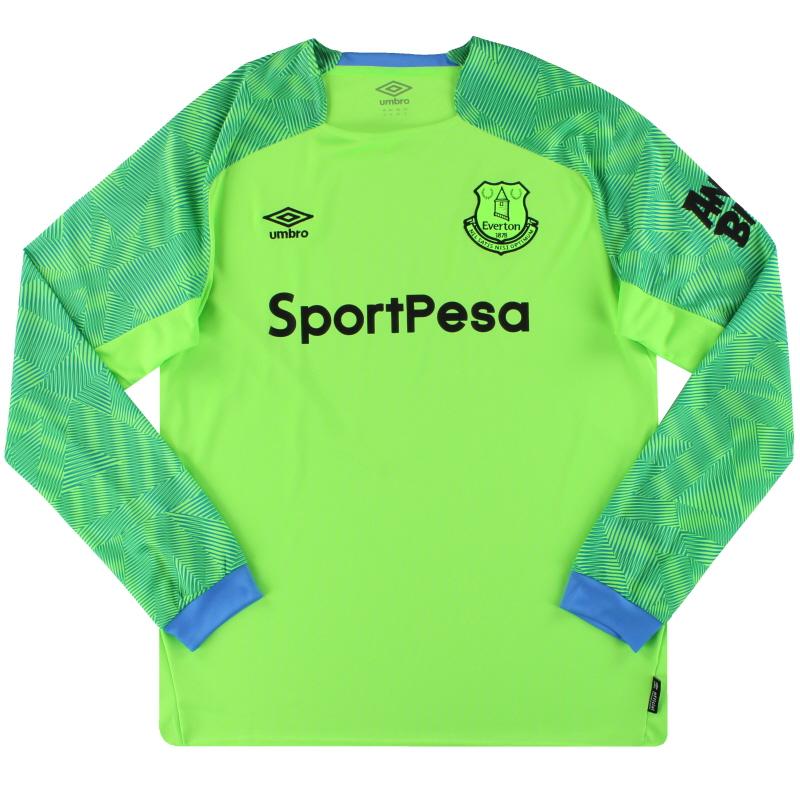 2018-19 Everton Umbro Goalkeeper Shirt XL