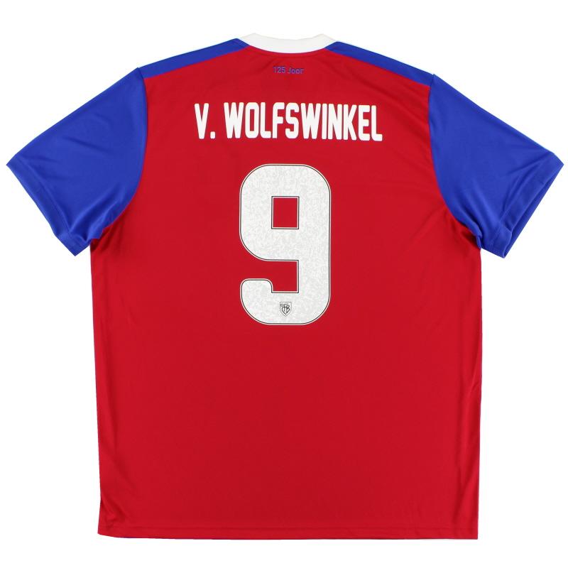 2018-19 FC Basel Home Shirt v. Wolfswinkel #9 *w/tags* XL - DP9176