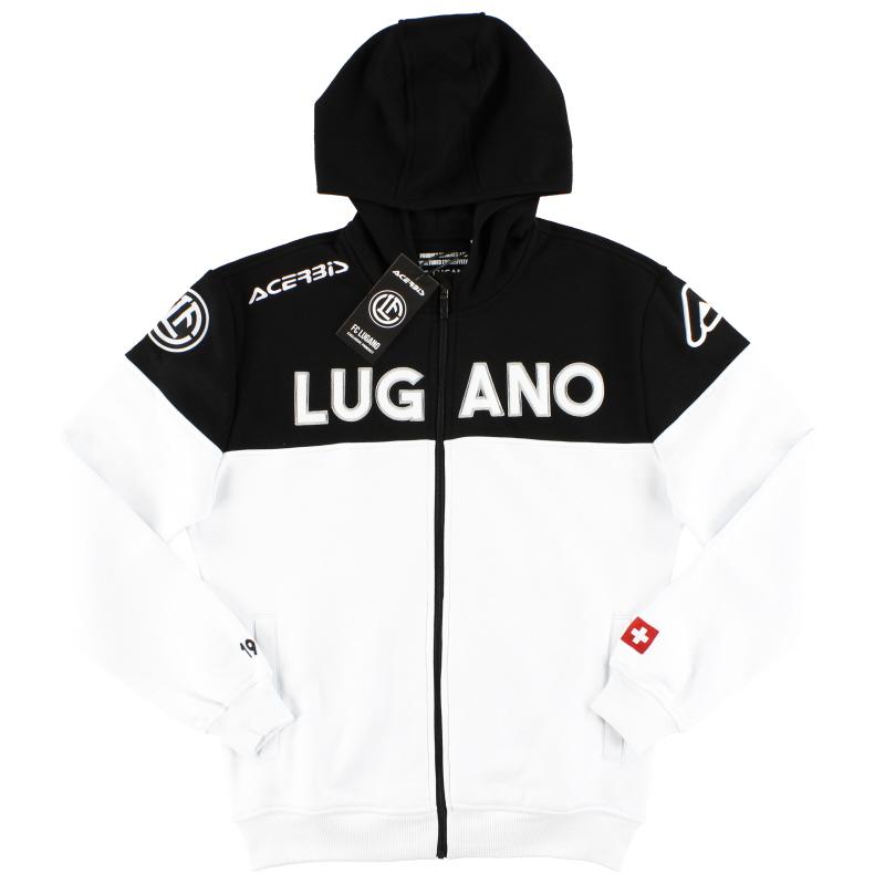 2018-19 FC Lugano Acerbis Full Zip Hoodie *BNIB* - 0023285.030