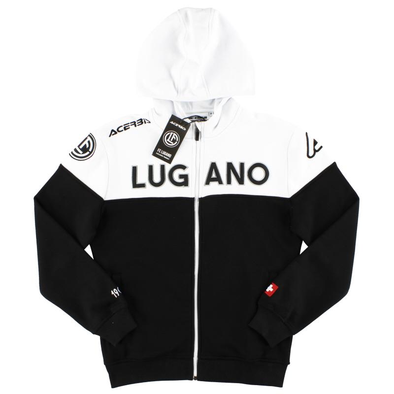 2018-19 FC Lugano Acerbis Full Zip Hoodie *BNIB* - 0023285.090