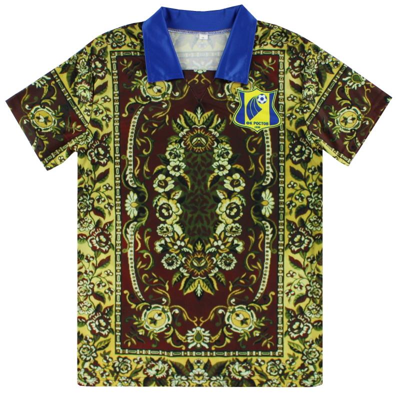 2018-19 FC Rostov 'Lucky Carpet' Fourth Shirt *BNIB* - 5060666840001