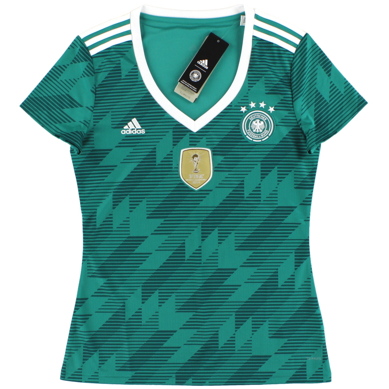 2018-19 Germany adidas Women's Away Shirt *w/tags* - BR3149