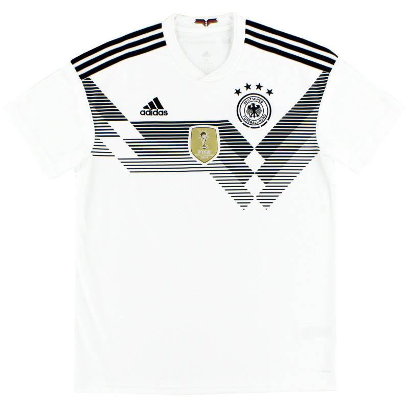 2018-19 Germany adidas Home Shirt XS - BR7843