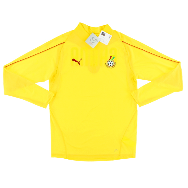 2018-19 Ghana Puma 1/4 Zip Training Top *BNIB* - 753136_05