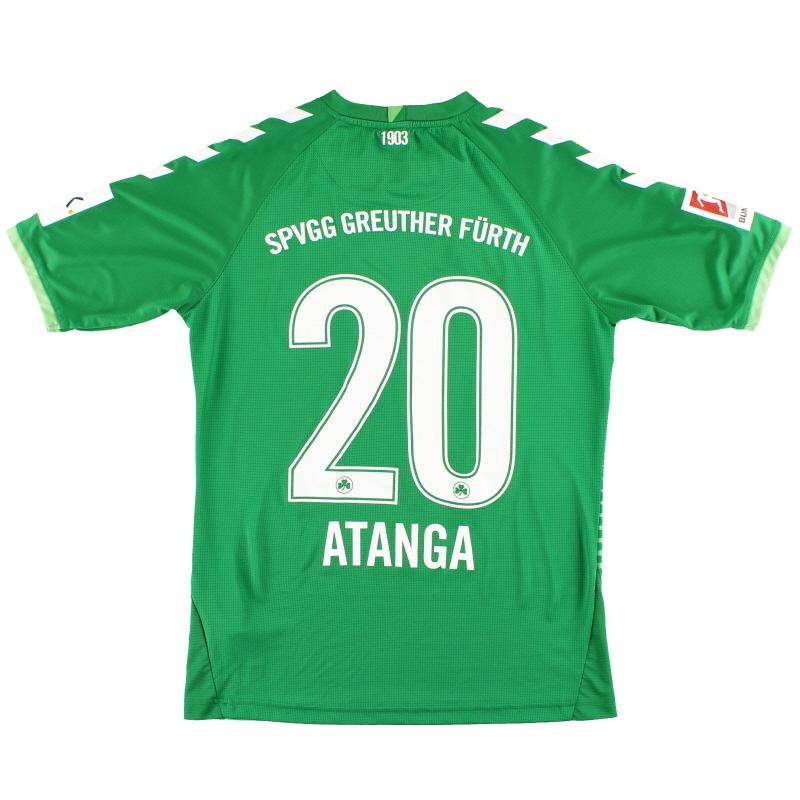 2018-19 Greuther Furth Hummel Away Shirt Atanga #20 *Mint* XS - 202439/202441