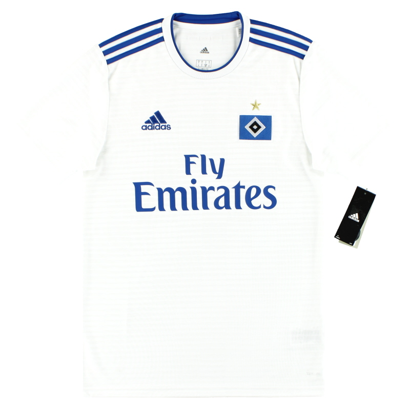 2018-19 Hamburg adidas Home Shirt *w/tags* - CF5438