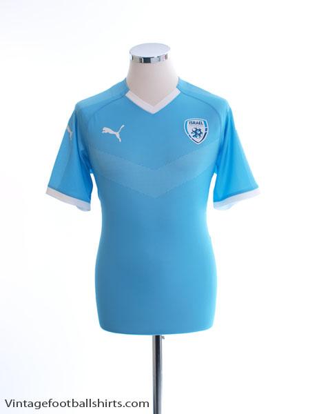 2018-19 Israel Home Shirt *BNWT* L - K2264001R