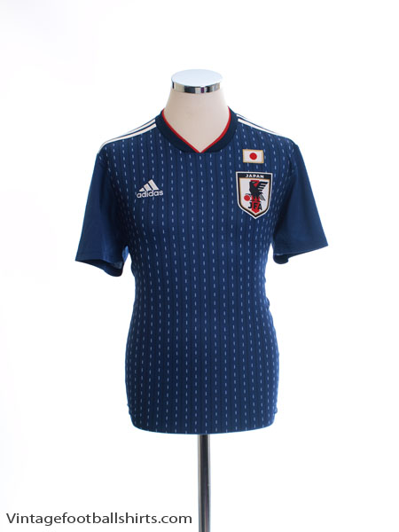 2018-19 Japan Home Shirt *Mint* M - CV5638