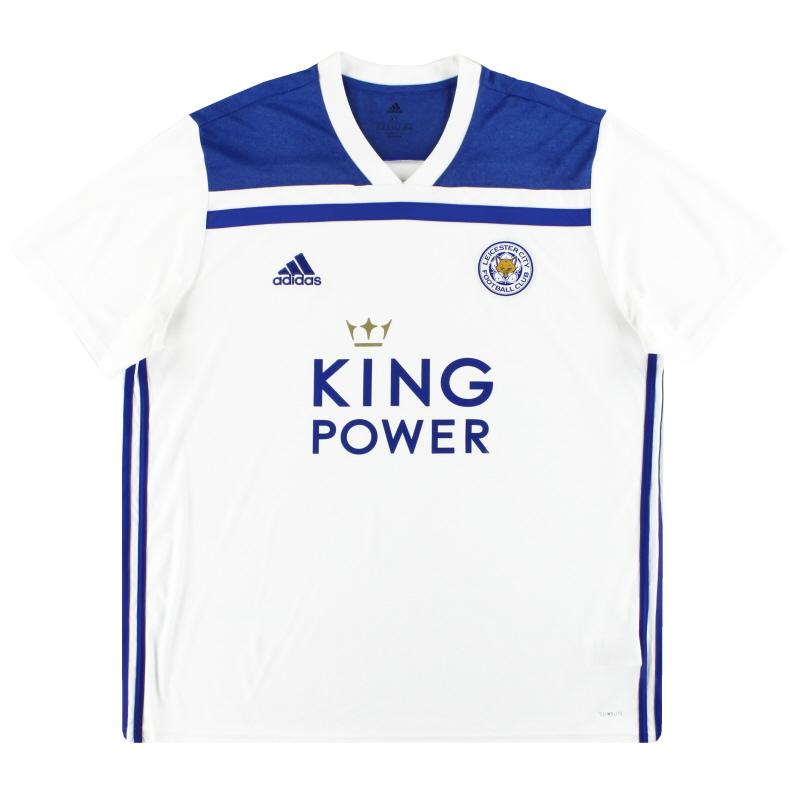2018-19 Leicester City adidas Third Shirt *Mint* XL - CE8970