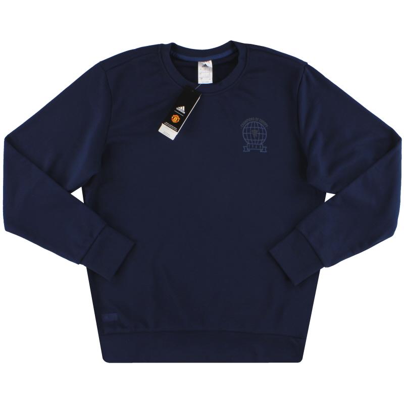 2018-19 Manchester United adidas Graphic Sweatshirt *BNIB* - CW7650