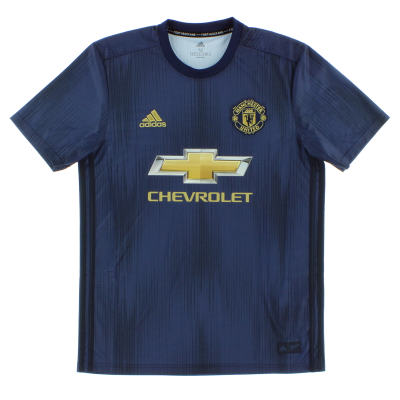 2018-19 Manchester United adidas Third Shirt *As New* S - DP6022
