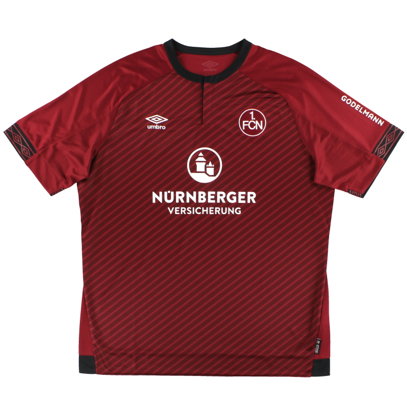 2018-19 Nurnberg Umbro Home Shirt *As New* XXL