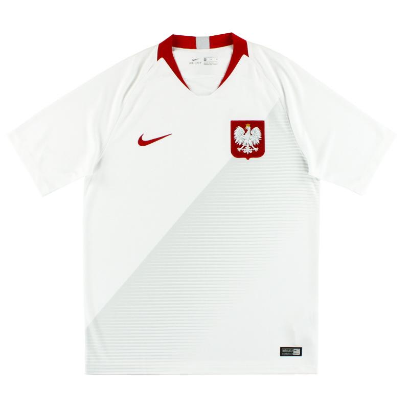 2018-19 Poland Nike Home Shirt *As New* M - 893893-100