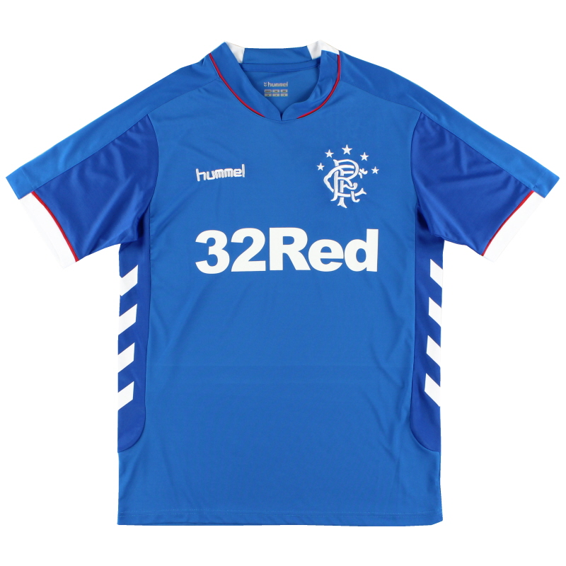 2018-19 Rangers Home Shirt S