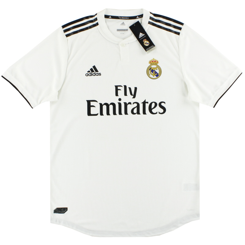 2018-19 Real Madrid adidas Player Issue Authentic Home Shirt *w/tags* - CG0561