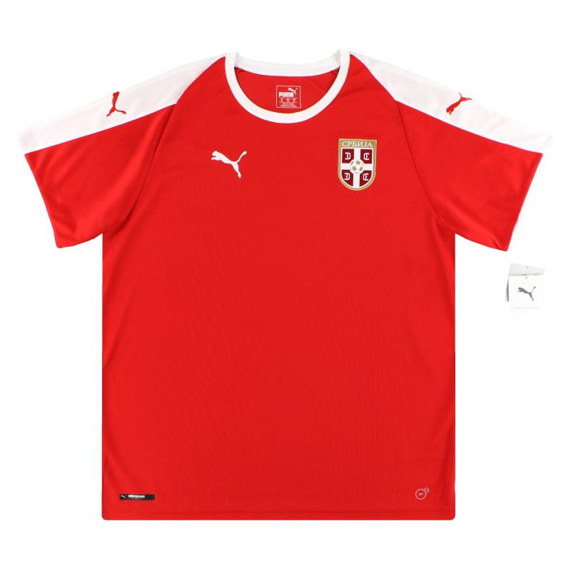 2018-19 Serbia Puma Home Shirt *BNIB* XL - 754921-01