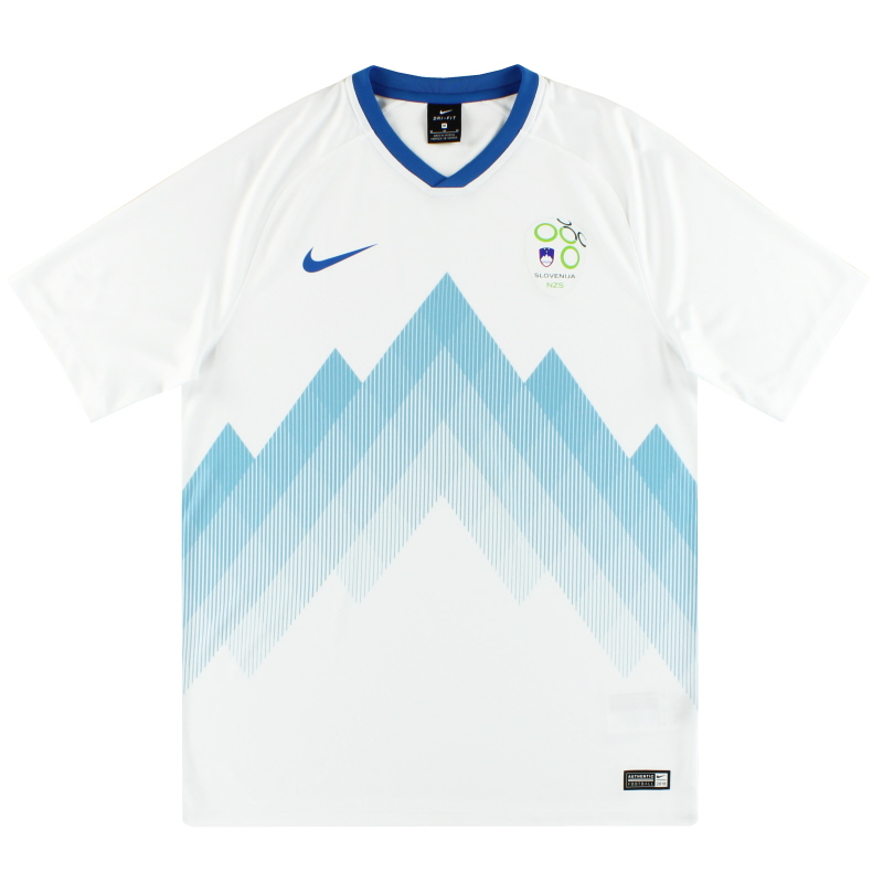 2018-19 Slovenia Nike Basic Home Shirt *As New* M - AH5485-100