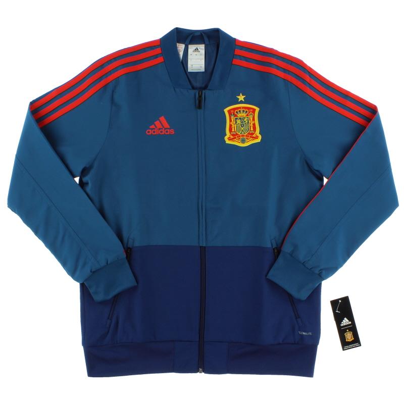 2018-19 Spain adidas Presentation Jacket *BNIB* XS.Boys - CE8836