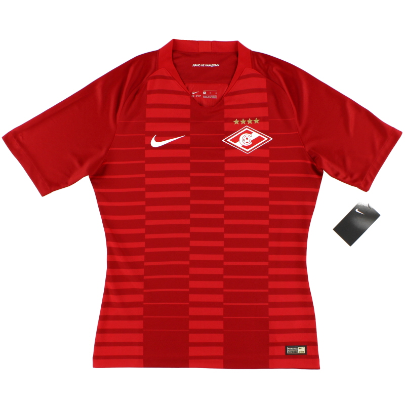 2018-19 Spartak Moscow Vapor Player Issue Home Shirt *w/tags* - 920329-657