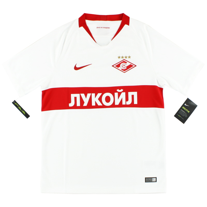 2018-19 Spartak Moscow 'Away Shirt *w/tags* - 919684-101